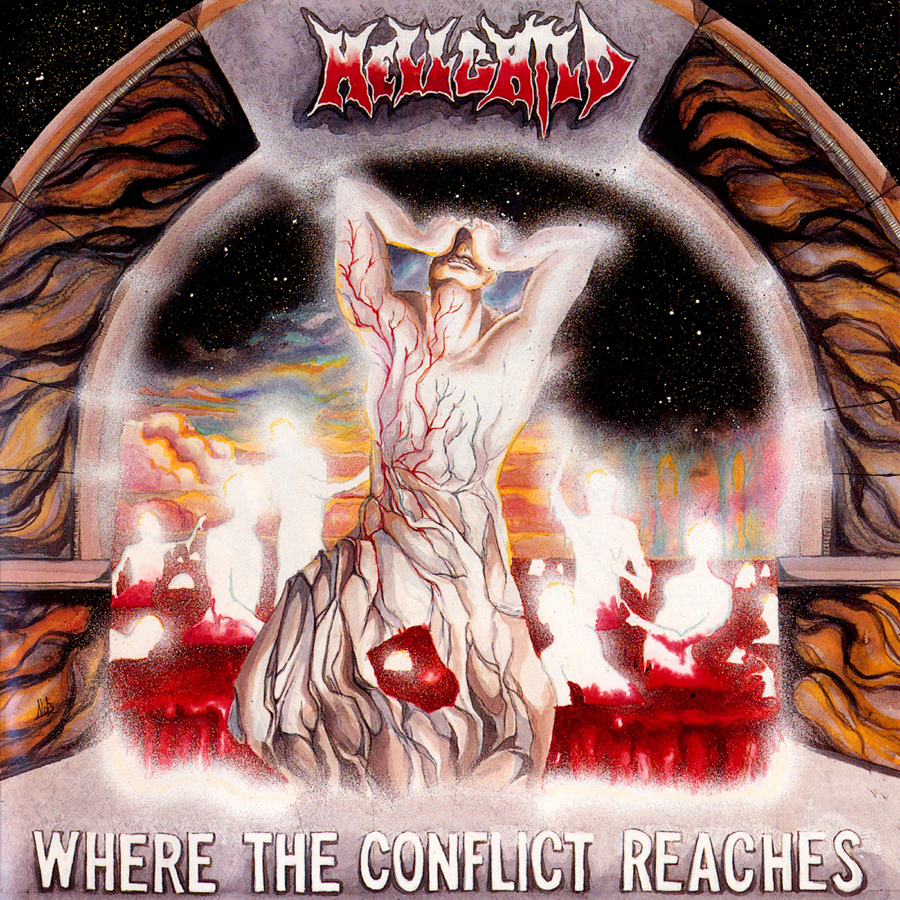 HELLCHILD 'Where The Conflict Reaches', 1993